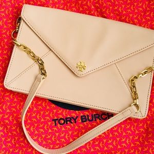 Tory Burch Envelope clutch bag.